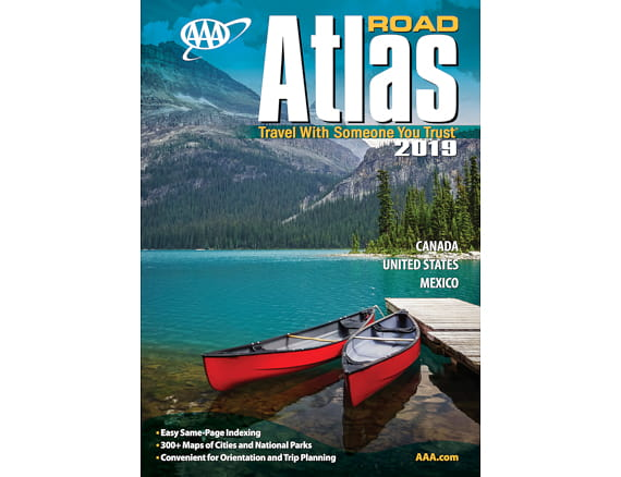 AAA Road Atlas - 2019 Edition (Canada, United States, Mexico) Road Atles Maps Book on