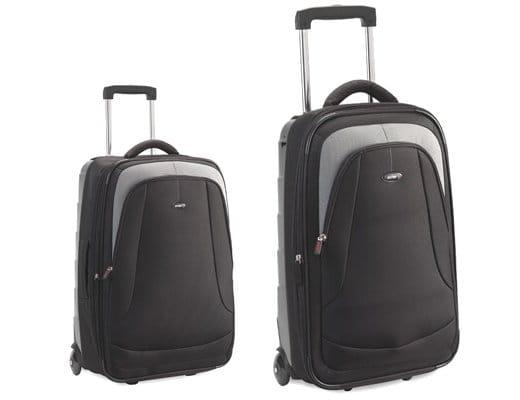 Antler Duolite Super Lightweight Suitcase Collection - Black