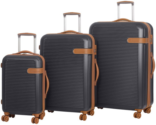 it luggage World's Lightest 8 Wheel Spinner Collection - Raven