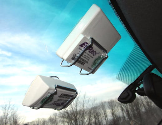 JL Safety EZ Pass-Port™ Unbreakable Toll Pass Holder for E-ZPass
