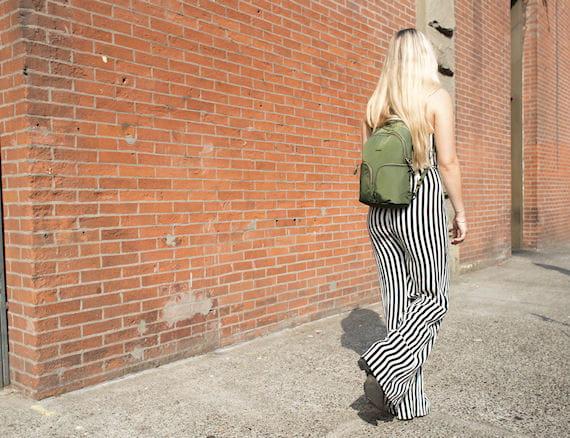 Pacsafe® Stylesafe Anti-Theft Sling Backpack - Kombu Green 09fca8ef2d369