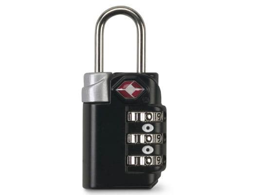 Smooth Trip® TSA Accepted Combination Luggage Lock - Black