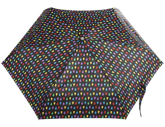 totes Black Auto Open Close Umbrella