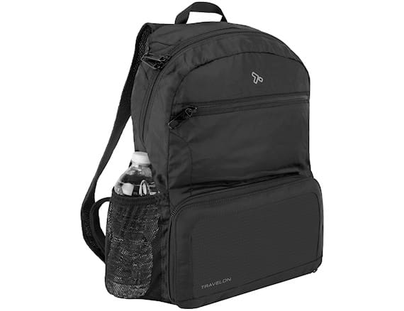 Travelon 174 Anti Theft Active 174 Packable Backpack Black