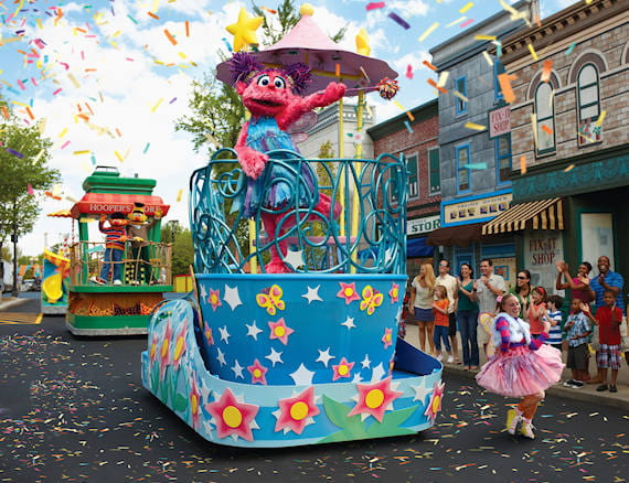 Sesame Place Travel Packages