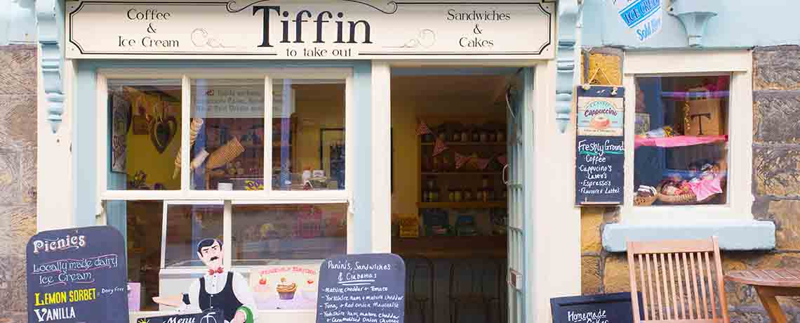 Tiffin cafe