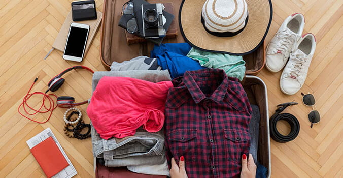 5 THINGS YOU SHOULD NEVER PACK