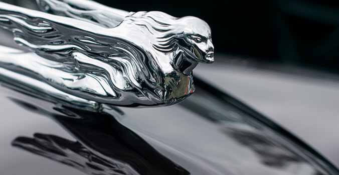 THE RISE AND FALL OF CAR HOOD ORNAMENTS