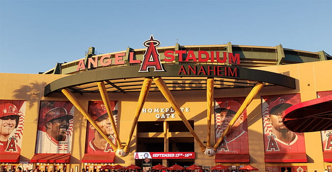 Park #28: Angel Stadium of Anaheim