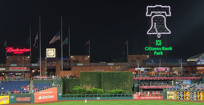Park #17: Citizens Bank Park