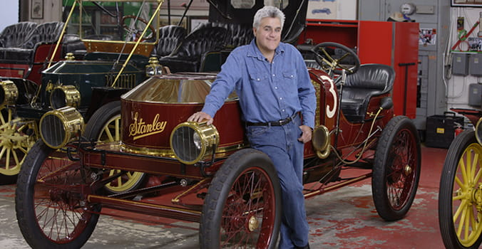 In the Garage With Jay Leno