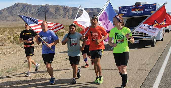 Running to Remember Service Members Who Gave Their Lives