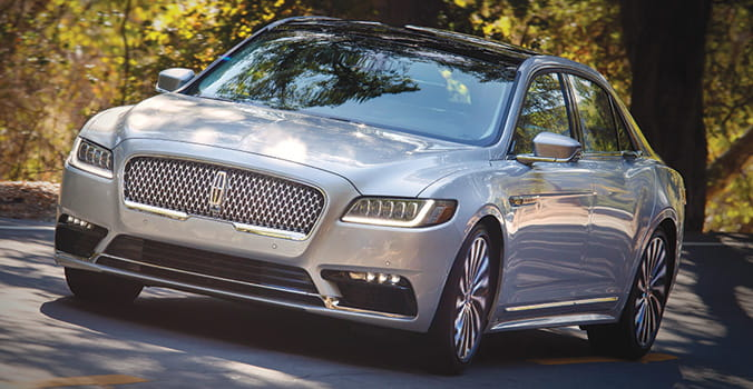 Car Review: Lincoln Continental