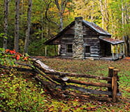 Cabin the Smokies, Circa 1850
