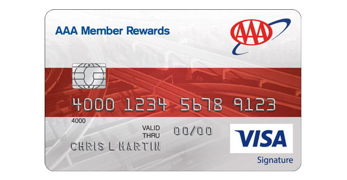 AAA Member Rewards Visa Card