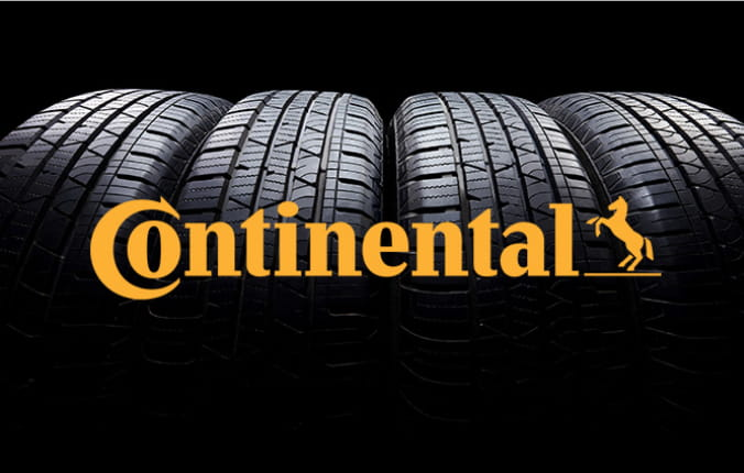 Set of Continental tires