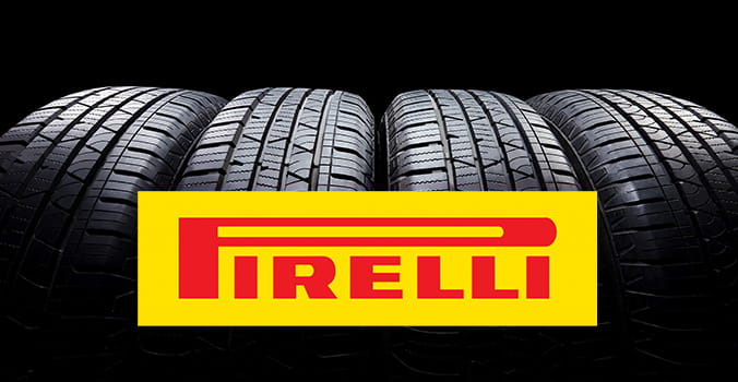 Pirelli tire logo overlayed on tire image.
