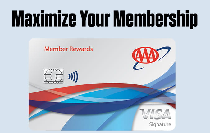 AAA Memeber Rewards Visa - Get a $200 statement credit after qualifying purchases