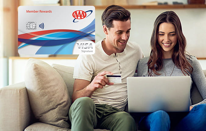 AAA Member Rewards Visa - Get a $200 statement credit after qualifying purchases