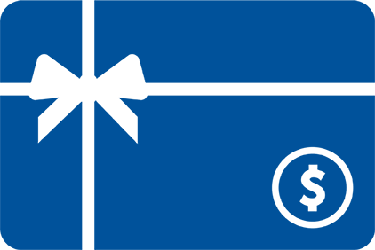 Image of a prepaid gift card