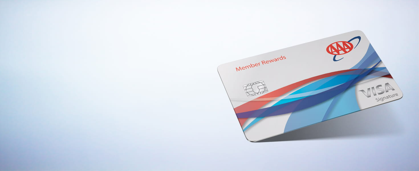 AAA Member Rewards Visa card image