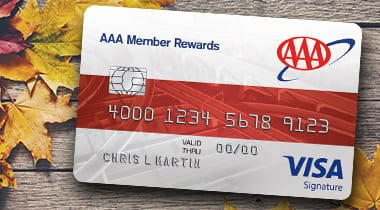 AAA Member Rewards Visa