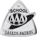 AAA School Safety Patrol Pin Badge