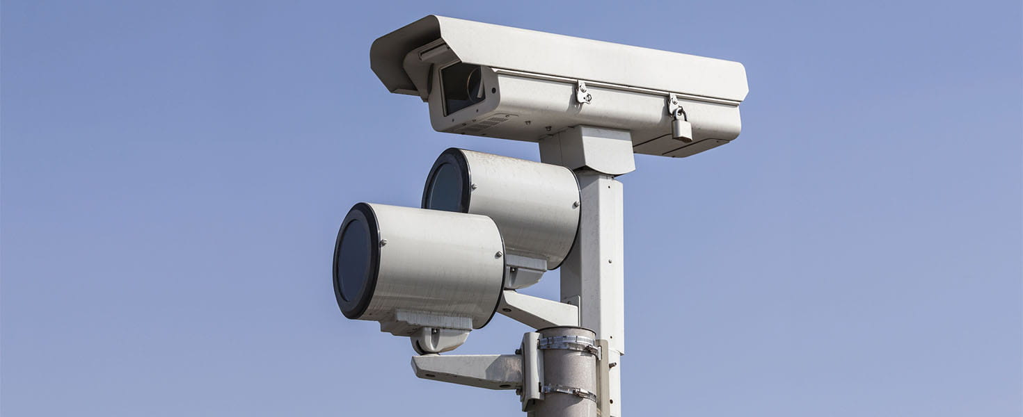 Surveillance Camera Outside