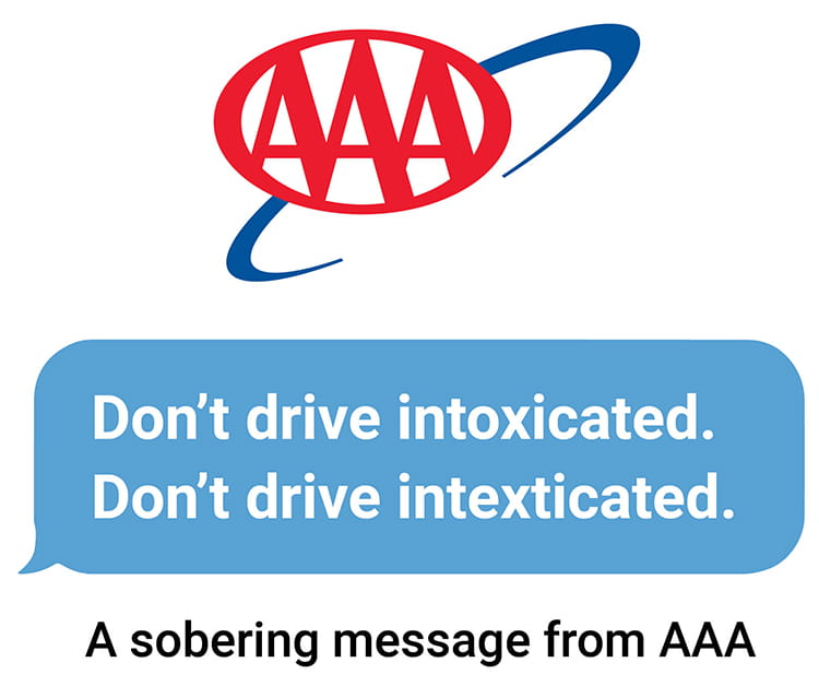 dont drive distracted logo
