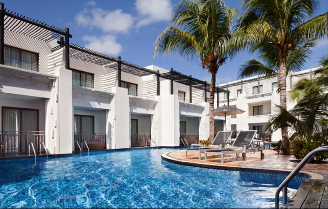 Family Swim Up Suite 1106 at Azul Beach Hotel