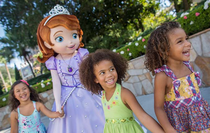 Disney kid size package offer