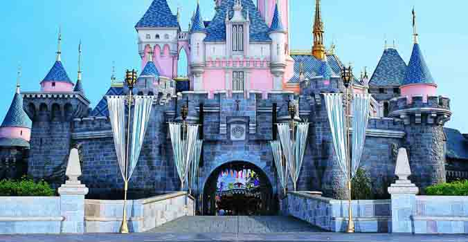 The Castle at Disneyland