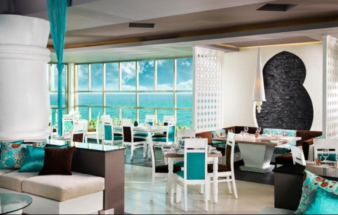 Fine Dining with view of the Oceanfront at Generations Riviera May