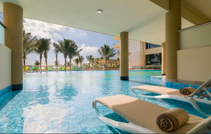 Oceanfront Swim Pool Suite at the Generations Riviera Maya