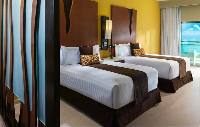 Luxury Two Bed Suite with Jacuzzi at the  Generations Riviera Maya