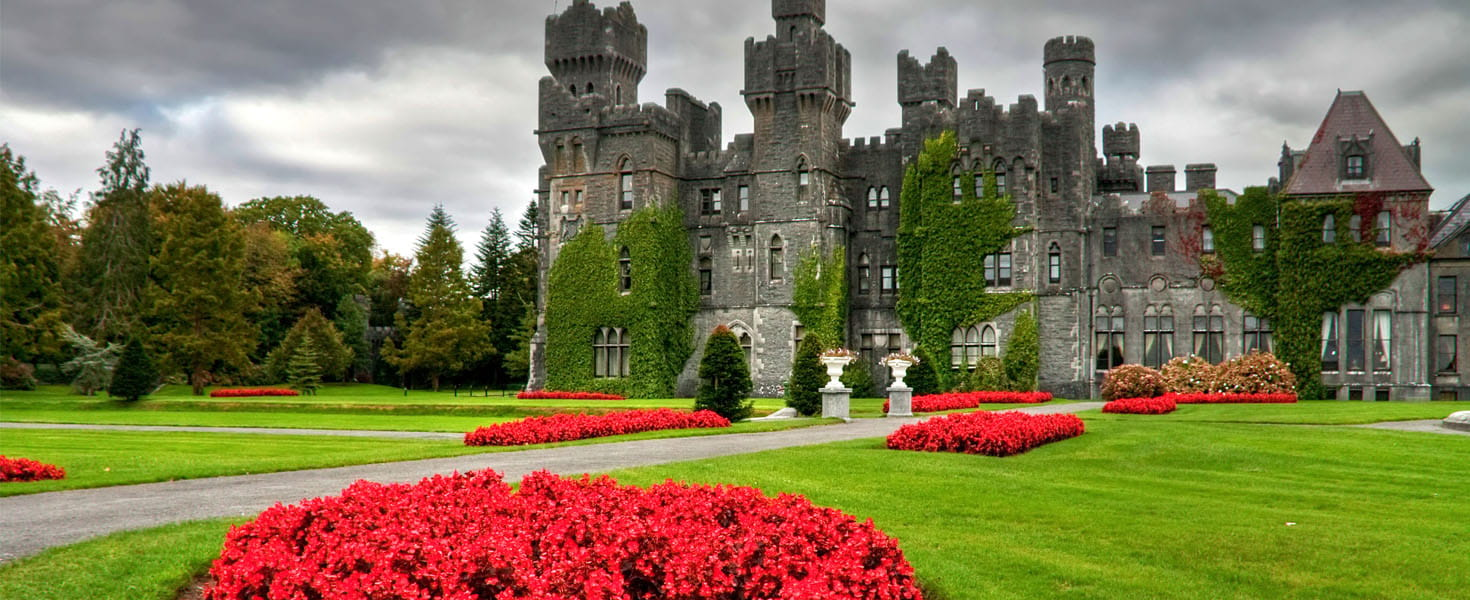 Ashford castle and gardens