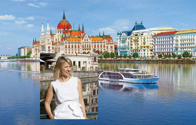 "Travel with Samantha Brown, world traveler and host of ""Samantha Brown's Places to Love,"""