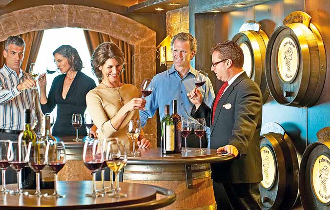 Wine Sommelier aboard Princess Cruises