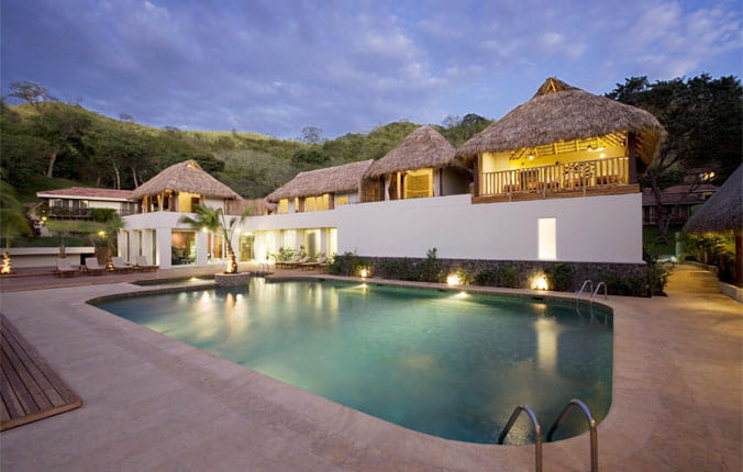 Outdoor pool area at Secrets Papagayo