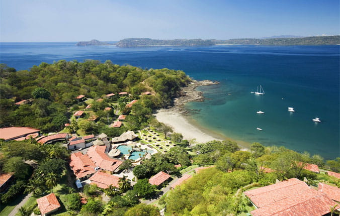 Aerial view of Secrets Papagayo Resort