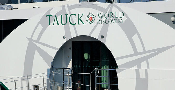 Entryway for Tauck Cruises