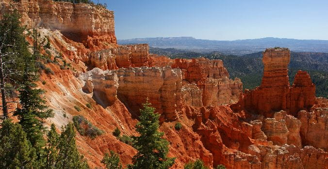 Giant Mountain at Bryce Canyon National Park