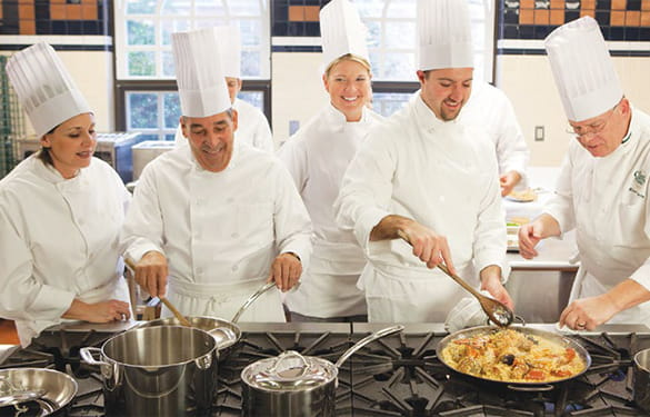 Cooking Classes at The Culinary Institute of America