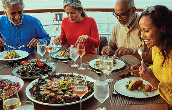 On a Holland America Line cruise, dining is both a pleasure and an exploration.