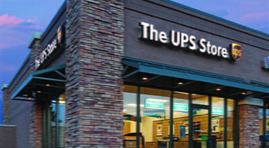 A UPS Storefront location