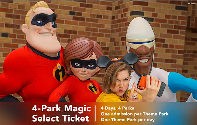 Disney Incredibles at Walt Disney World