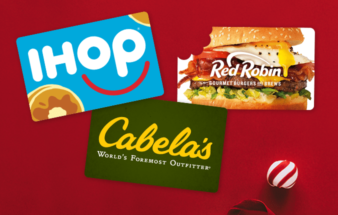Gift cards make the perfect gift.