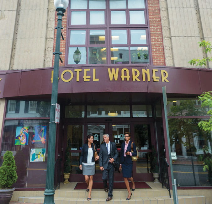 Hotel Warner, West Chester, PA