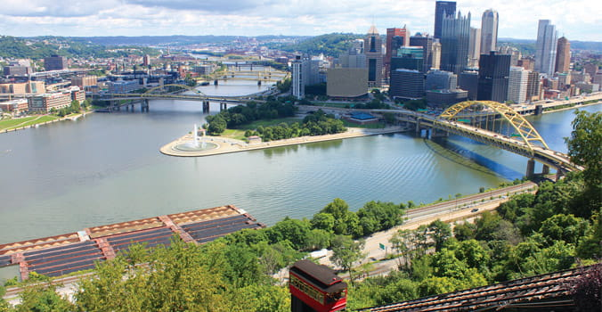 Skiline of Pittsburgh and Duquesne Incline