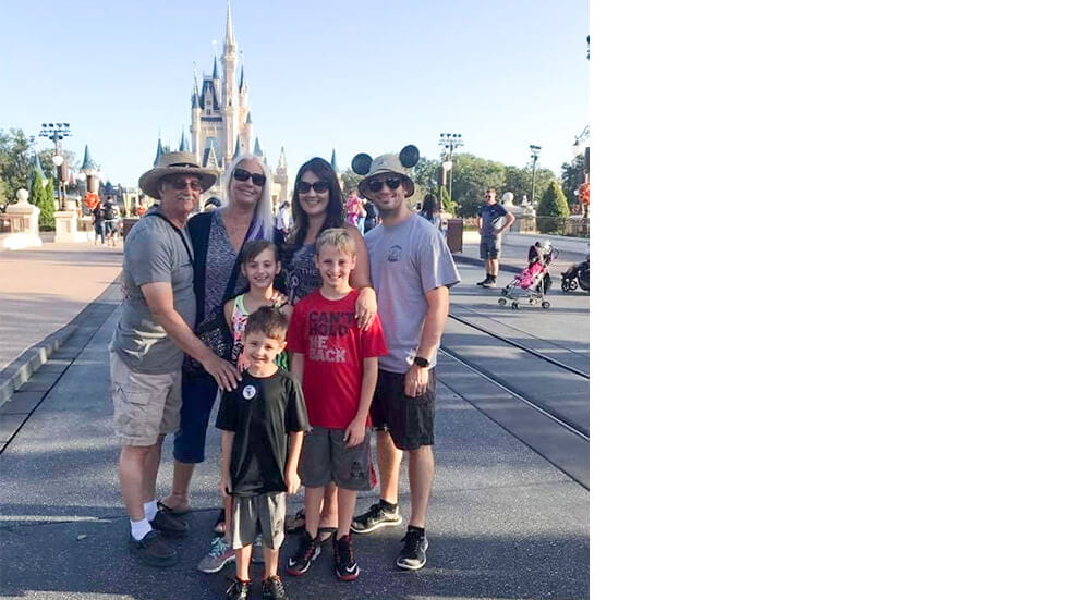 Family at Walt Disney World